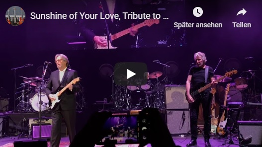 2020 Ginger Baker Tribute Sunshine of Your Love